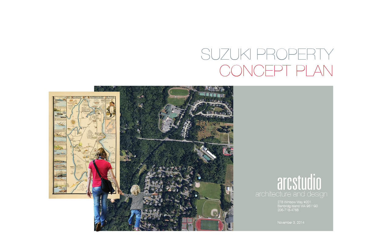 Bainbridge Island Suzuki Property Concept Plan by Arcstudio